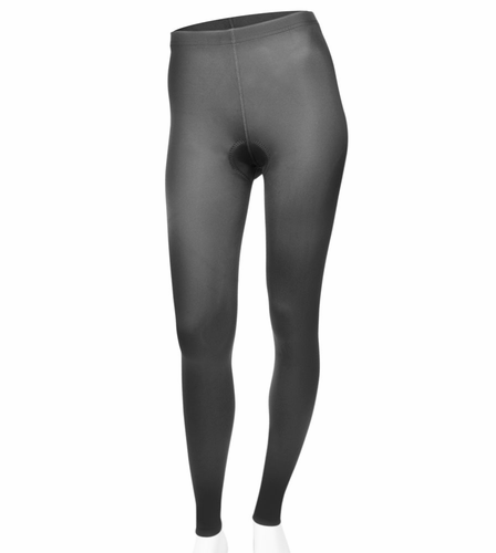 plus women's padded cycling tights