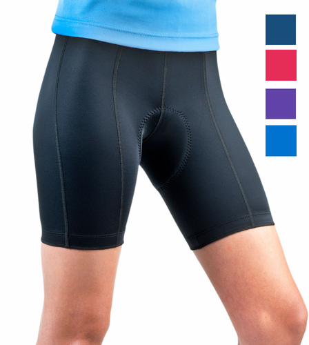 Aero Tech PLUS Womens Cycling  Pro  Padded Bike Shorts- Anti Chafe Pad