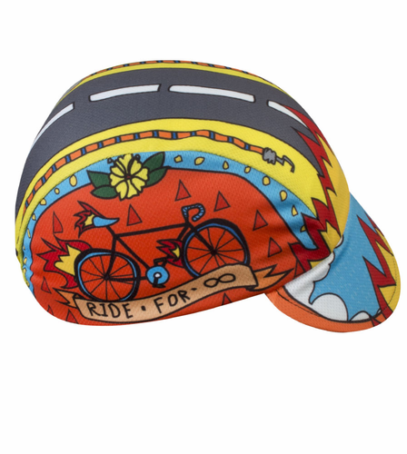 Aero Tech Rush Cycling Caps – Ride for Infinity – Made in USA