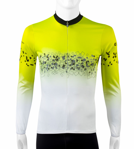 Coolmax Cycle Jersey with 3M Reflective Printing