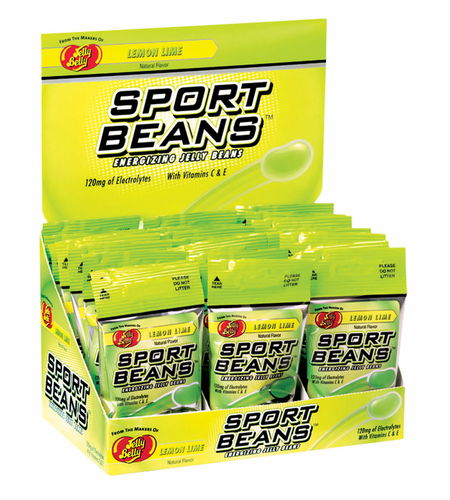 Sport Beans Energizing Jelly Beans 4 Flavors  Available Case  24 Packs