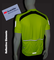 Tall Men's Elite Coolmax Cycling Jersey w 3M Reflectives Extra Long