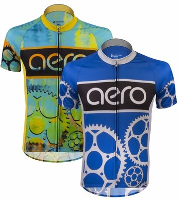 Tall Sprocket Man Peloton Cycling Jersey