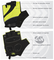 Tempo 2.0 Fingerless Cycling Gloves – With Gel Support