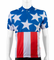 Aero Tech USA Champion Patriotic Cycling Jersey Stars and Stripes Red White Blue