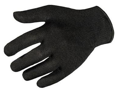 Wigwam Black Thermolite Glove Liner Stays Dry in the Cold