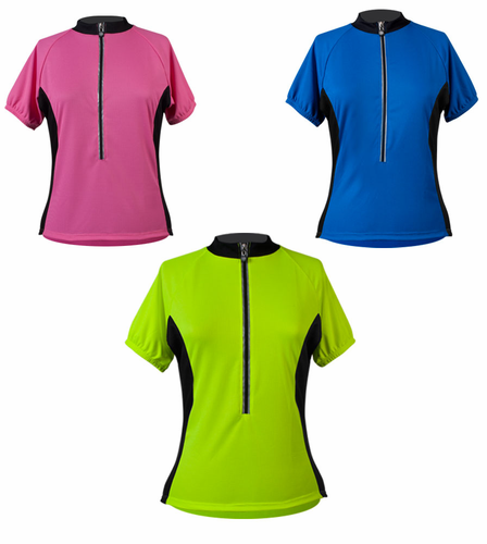ATD Women's Club Jersey with back pockets for Biking - Made in USA