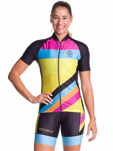 Women's Island Vibe Cycling Jersey - Coeur Sports