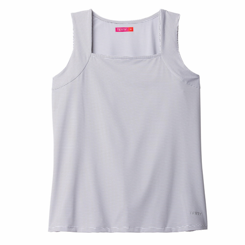 Womens Plus Tourista Cycling Tank Top by Terry