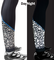 Aero Tech Womens Shattered Glass 3M Reflective Supplex  PADDED Cycle Tights