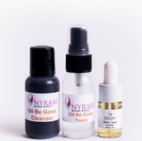 Natural Sample Kit for Acne and Oily Skin