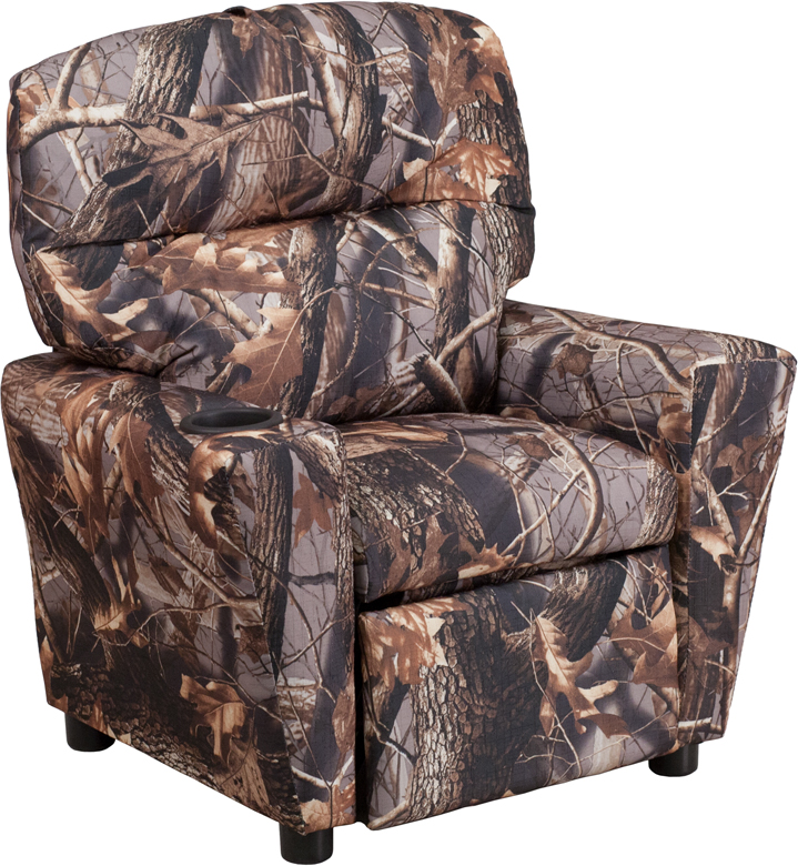 Contemporary Camouflaged Fabric Kids Recliner with Cup Holder [BT-7950-KID -CAMO-GG]  sc 1 st  Recliner City : childrens recliners - islam-shia.org