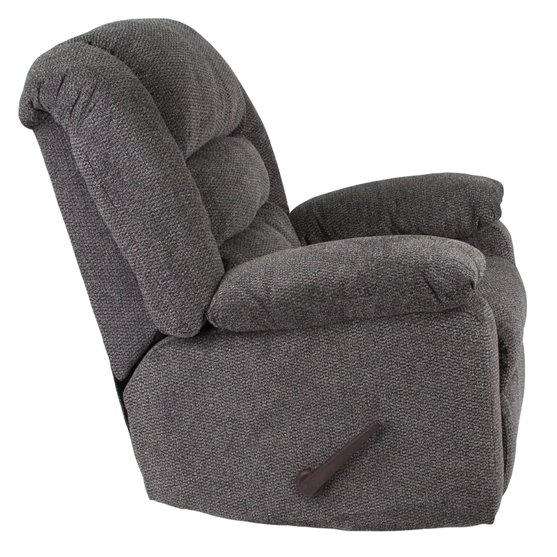 Contemporary Super Soft Jesse Pepper Chenille Rocker Recliner WA 8810 499 GG