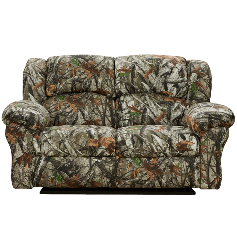 exceptional designs next camouflage fabric reclining loveseat 1002nextcamouflage gg