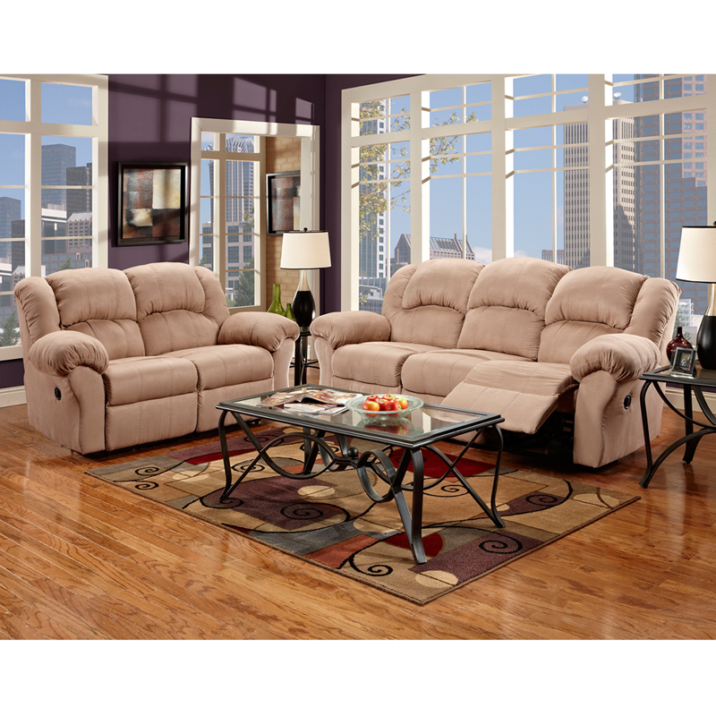 exceptional designs reclining living room set in