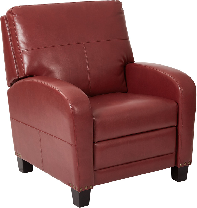Inspired by Bassett Wellington Bonded Leather Recliner with Antique Bronze Nail Heads - Merlot [BP-WLRC-BD39-FS-OS]  sc 1 st  Recliner City & Inspired by Bassett Wellington Bonded Leather Recliner with ... islam-shia.org