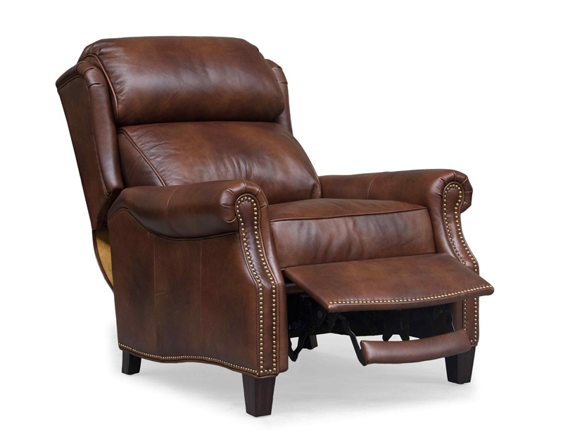 Meade All Leather Recliner - Worthington Cognac [7-3058-5460-85-FS-BAR]  sc 1 st  Recliner City & Meade All Leather Recliner - Worthington Cognac [7-3058-5460-85-FS ... islam-shia.org