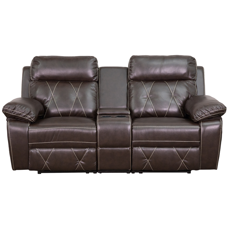 view by ashley furniture leather sofas brown