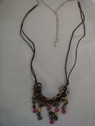 1 Piece of Adjustable Necklaces With Silver Tone Chain 40 L #38