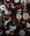 1 Pound Mixed Button 2 hole 4 hole Shank Different Sizes 8-24 mm