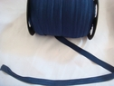 1 wholesale roll 200 yards of navy blue foe/fold over. 5/8 w
