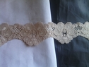 Beige stretch lace trim 1 5/8 inch s5 box