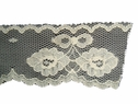 Ivory scalloped floral  Lace Trim 1 1/4 In L6-3