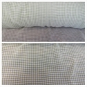 Lime and white checker design chiffon fabric 60 inches long.