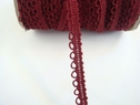 Burgandy gimp with loop trim. 3/8 W