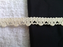 Natural Braided Edge Barrow Gimp trim 1/2 inches wide