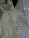 white 4 way stretch lace fabric 58  inch wide