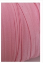 Baby pink fold over elastic trim 5/8 inch wide for headband
