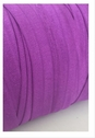 Ultra violet fold over elastic trim 5/8 inches wide.