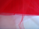 Red tulle fabric 54 INCH  wide