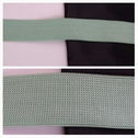 Spring green knitted thick elastic bra strap 3/4 icnhes wide.