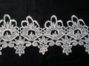Off White Venice Lace Venise Trim 4 1/2 inch Wide