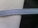 10 yards of baby blue 3D Bra strap 7/16 inches