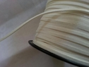 100 yards off white faux suede flat cord 1/8 great for jewelry making