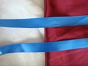 100 yd royal blue satin ribon 100% polyester 7/8 w