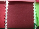 120Y Roll of Burgundy Poly-Cotton