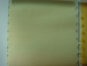 120Y Roll of Light Yellow Poly-Cotton