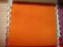 120Y Roll of Orange Poly-Cotton