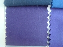 120Y Roll of Plum Poly-Cotton