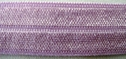 144Yd Roll of Pink Lavender Fold Over Elastic 5/8W