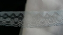 1Ypale  Baby blue lace Edge  trim 1 inch W L4-4