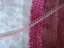 Baby Pink Looped Gimp Trim 1/2 W