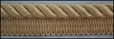 Beige Twisted Lip Cord upholstery  1 W