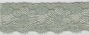 Green Pale Stretch Lace Trim 1 W S-6-4