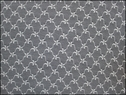 1Y Ivory 4 Way Stretch Floral Design Lace Fabric 53in. W
