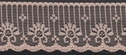 Peach Scalloped Lace Trim 1 7/8 W  L9-1